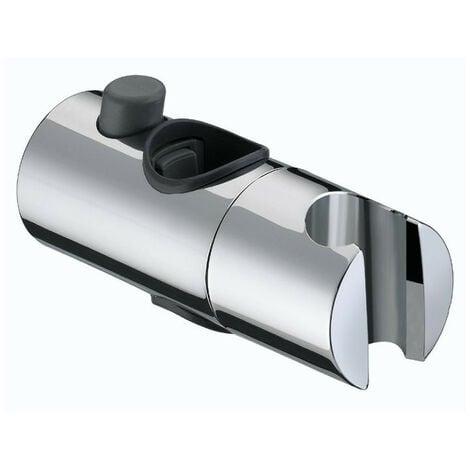 Bristan Chrome 25mm Tubular Slider Bracket - SLID101-C