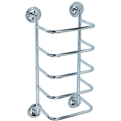 Bristan Chrome 558mm Wall Mounted Towel Stacker - COMP-TSTACK1-C