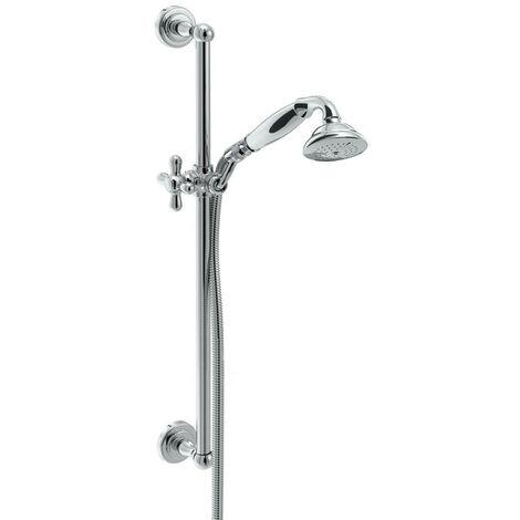 Bristan Chrome Traditional Deluxe Shower Kit - TRD-KIT01-C