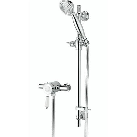 Bristan Colonial Sequential Exposed Mixer Shower with Shower Kit