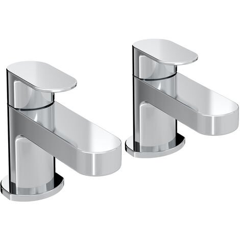 Bristan Frenzy Basin Taps - Pair - Chrome