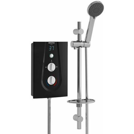 Bristan Glee 10.5kw Electric Shower Black - GLE3105 B