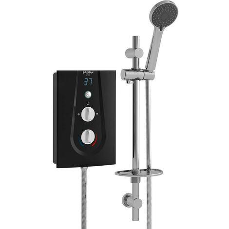 Bristan Glee Black 9.5Kw Electric Shower - GLE395-B