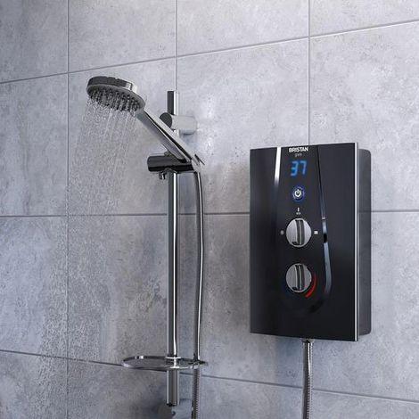 Bristan Glee Electric Shower, Black, 10.5kW