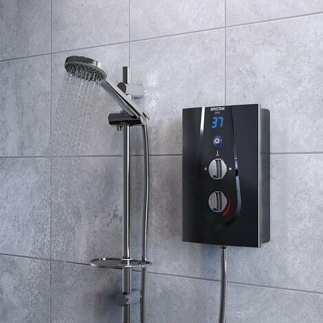 Bristan Glee Electric Shower Black 9.5kW