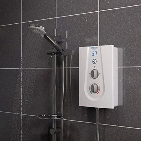 Bristan Glee Electric Shower, White, 9.5kW