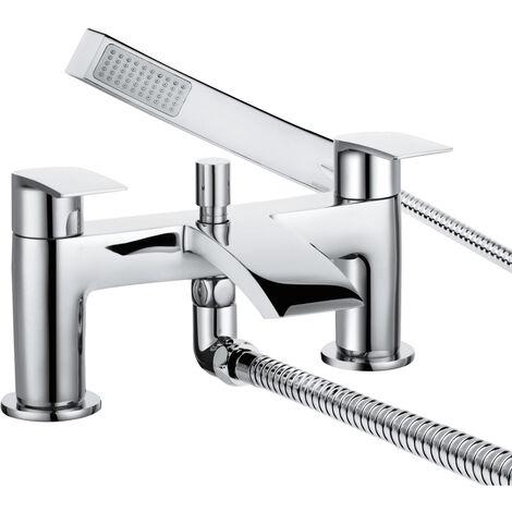 Bristan Glide Bath Shower Mixer Tap - Chrome