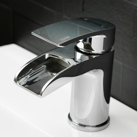 Bristan Glide Waterfall Basin Mixer Tap - Chrome