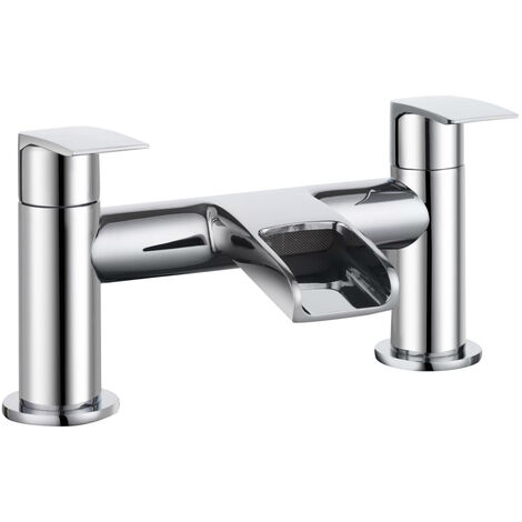 Bristan Glide Waterfall Bath Filler Tap - Chrome