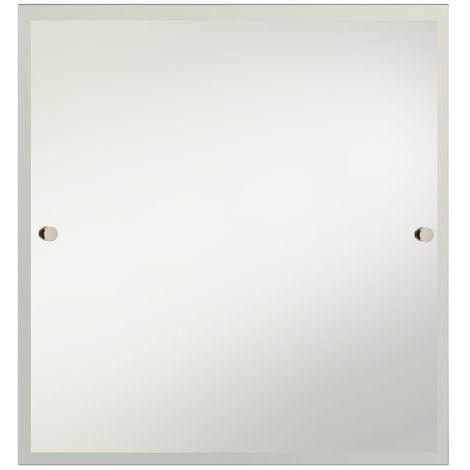 Bristan Gold 600mm x 600mm Square Bathroom Mirror - COMP-MRSQ-G