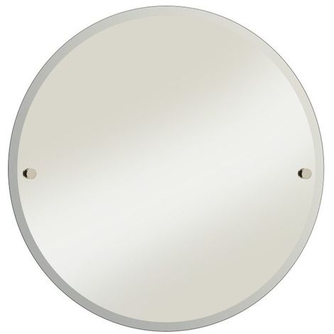 Bristan Gold 610mm Round Bathroom Mirror - COMP-MRRD-G