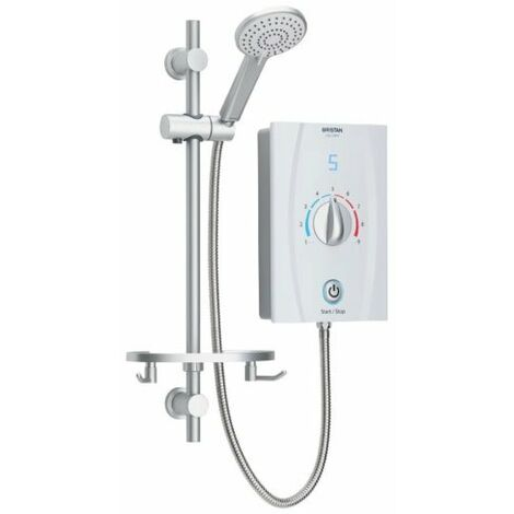 Bristan Joy Care 9.5kW Electric Shower - White