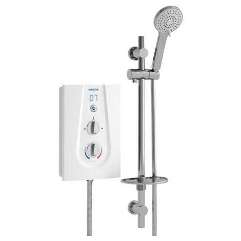 Bristan JOY Thermosafe Electric Shower White - 8.5KW