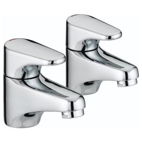 Bristan JU 1/2 C Jute Chrome Plated Basin Taps