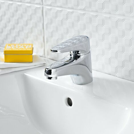 Bristan Jute Basin Mixer Tap without Waste Chrome Plated