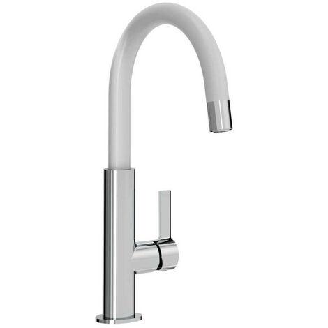 Bristan Melba White Kitchen Sink Mixer Tap - MLB-SNK-WHT