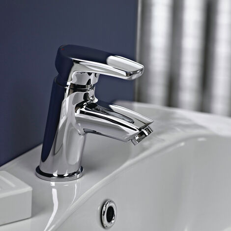 Bristan Orta Basin Mixer Tap without Waste Chrome