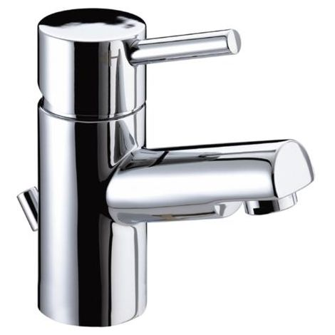 Bristan PM EBAS C Prism Basin Mixer with Eco-Click and Pop-Up Waste