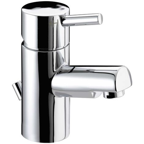 Bristan Prism Basin Mixer Tap with Pop Up Waste - Chrome Plated