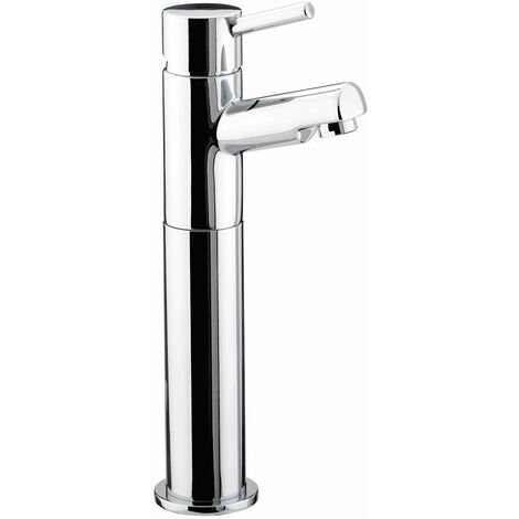 Bristan Prism Tall Basin Mixer Tap without Waste Chrome Plated