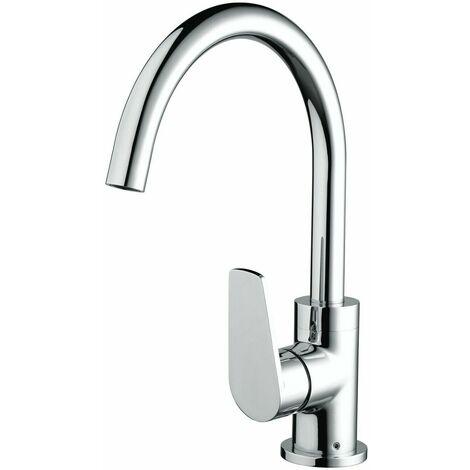 Bristan Raspberry Kitchen Sink Mixer Tap Single Lever Modern Easyfit Chrome