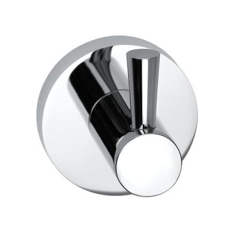 Bristan Round Chrome Wall Mounted Robe Hook - RD-HOOK-C