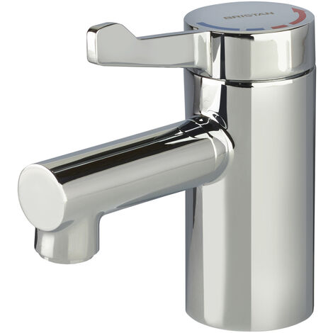 Bristan Solo2 Basin Mixer Tap with Short Lever - No Waste