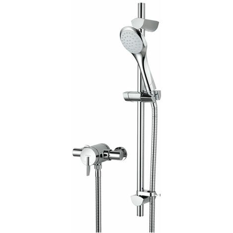 Bristan Sonique Sequential Exposed Mixer Shower with Shower Kit