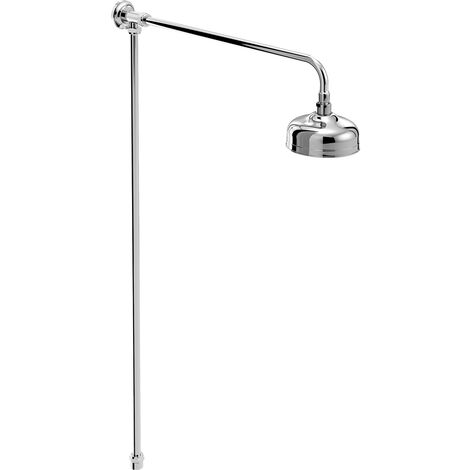 Bristan Traditional Rigid Riser Shower Kit - Chrome