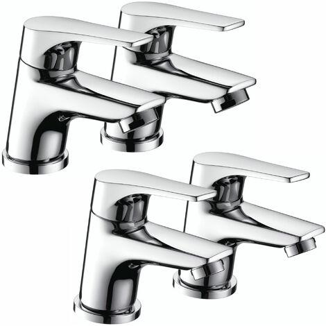 Bristan Vantage Basin Taps and Bath Taps, Chrome