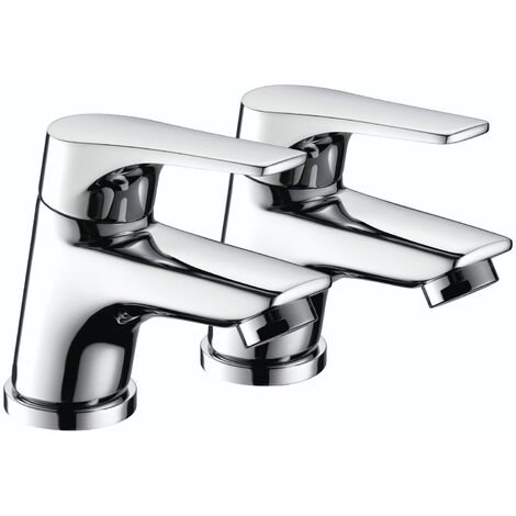 Bristan Vantage Basin Taps Pair - Chrome