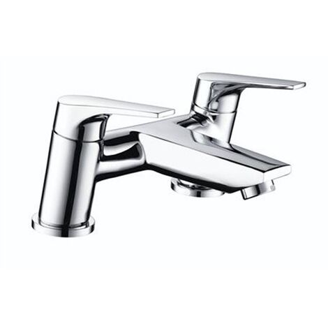 Bristan Vantage Bath Filler Tap Deck Mounted - Chrome