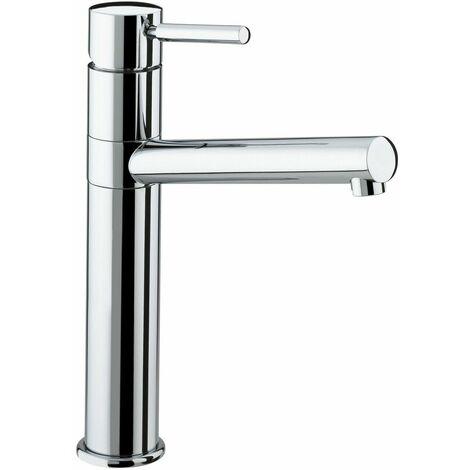 Bristan Vegas Kitchen Sink Mixer Tap Easyfit Modern Round Single Lever Chrome