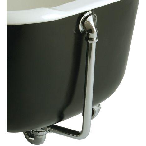 """main image of """"Bristan W BATH08C tradizionale esposti scarico per vasca da bagno con troppopieno C, cromato"""""""