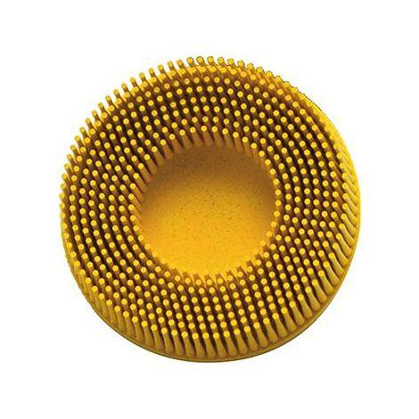 Bristle Disc ROLOC 76,2mm K80 jaune 3M 1 PCS