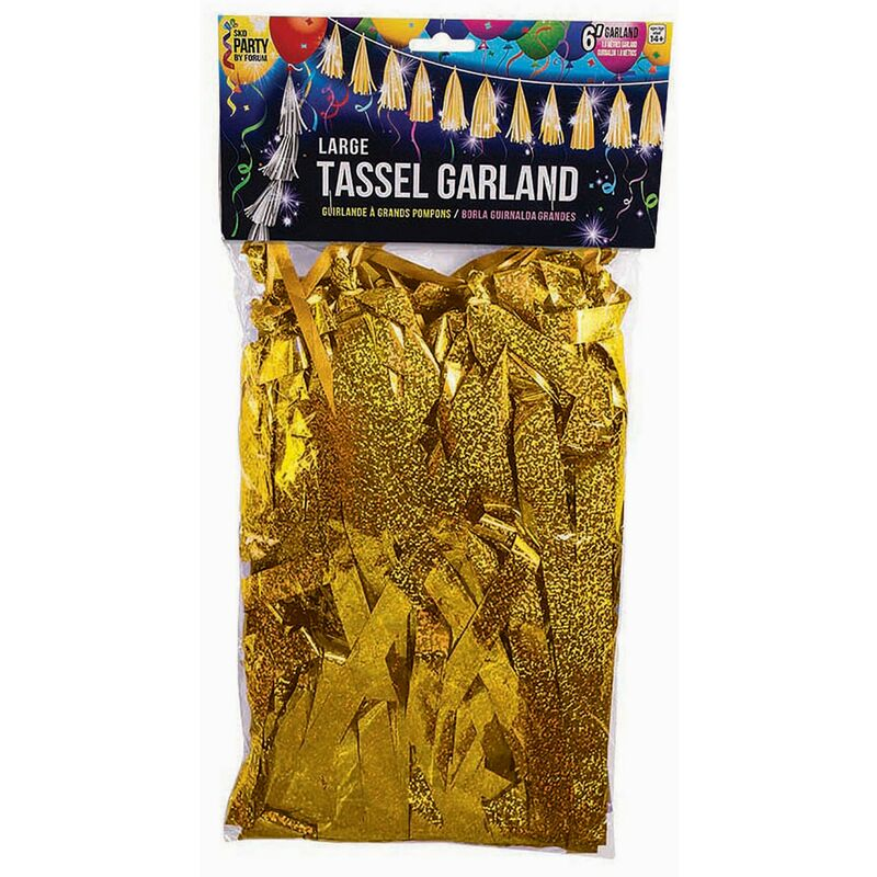 Image of Balloon Tassels (One Size) (Gold) - Bristol Novelty