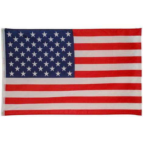 Bristol Novelty Stars and Stripes USA Flag (One Size) (Red/White/Blue)