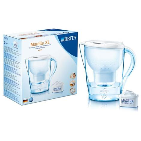 Brita Wasserfilter Marella Xl Weiß 35 Liter 076 894