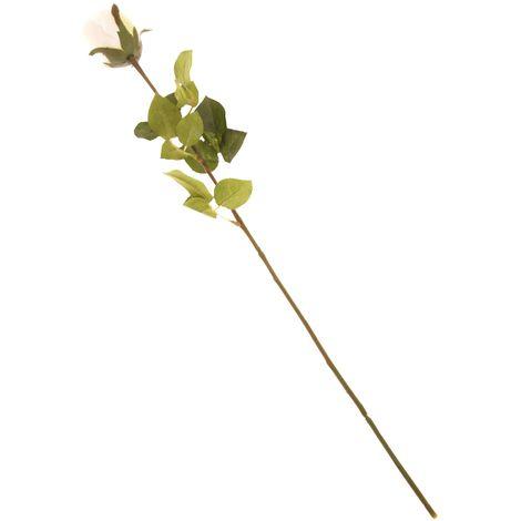 British Florist Association Artificial Rose (One Size) (Cream)