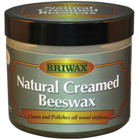 Briwax BW1901000053 Natural Creamed Beeswax Clear 250ml