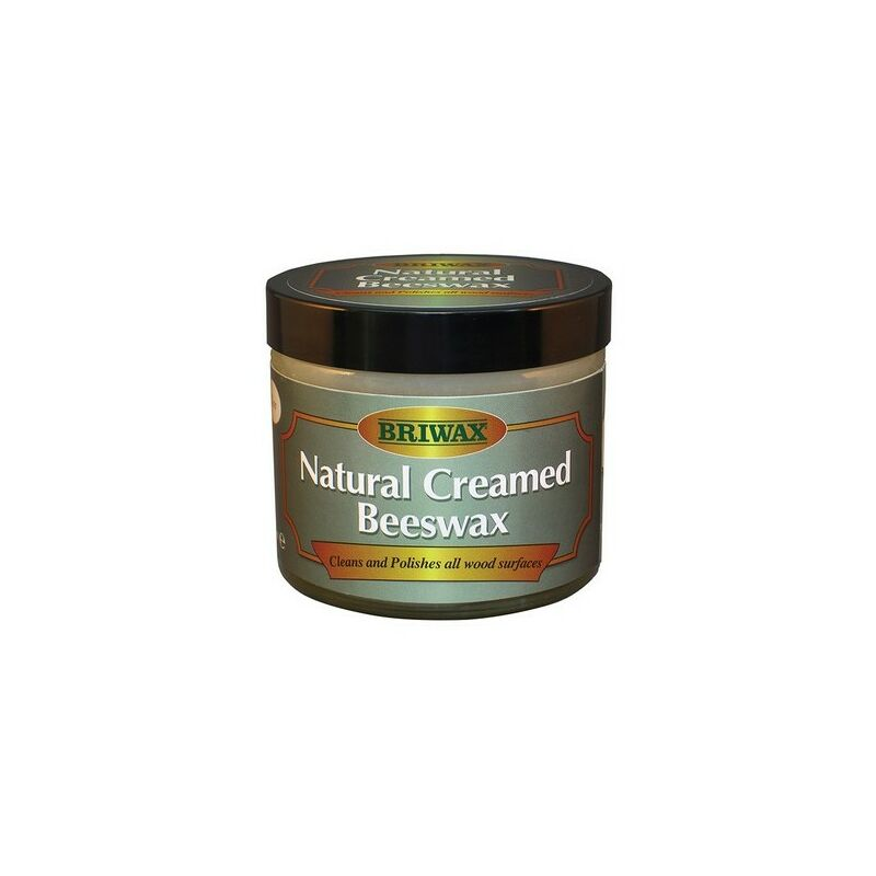 Image of Briwax BW1901000053 Natural Creamed Beeswax Clear 250ml