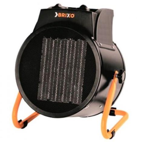 Brixo Générateur d'air chaud électrique 2000 W avec ventilateur PTC