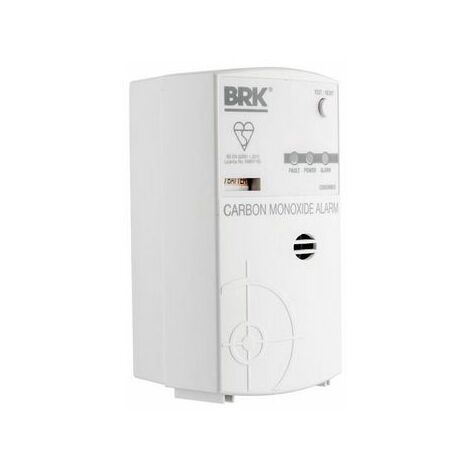 BRK CO850MBXI Carbon Monoxide Alarm – Mains Powered with Battery Backup