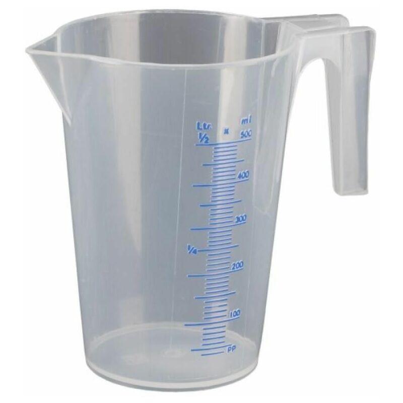 Broc doseur gradué transparent 1 litre