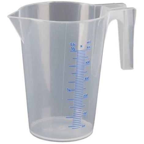 Broc doseur gradué transparent 5 litres