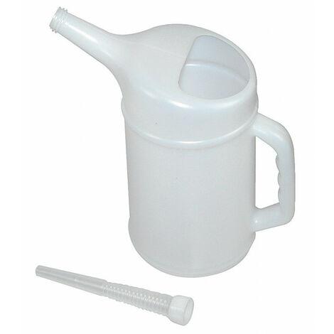 Broc gradué, en plastique, capacité 2 litres - AUTOBEST