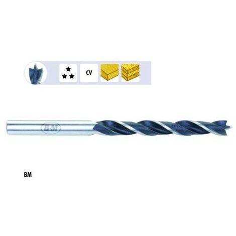 L= 130 mm BOSCH 2609255207 Brocas helicoidales para madera D= 10,0 mm