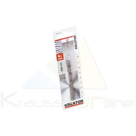 Broca/cobalto 4,5x80 (KRT011510)