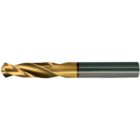 Broca corto D1897GT HSSEPM9,8mm TiN Guhring
