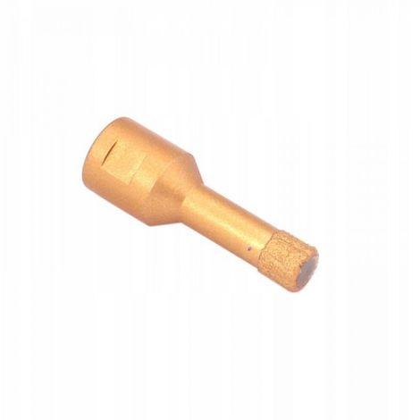 Broca de diamante para gres porcelánico m14 10mm s